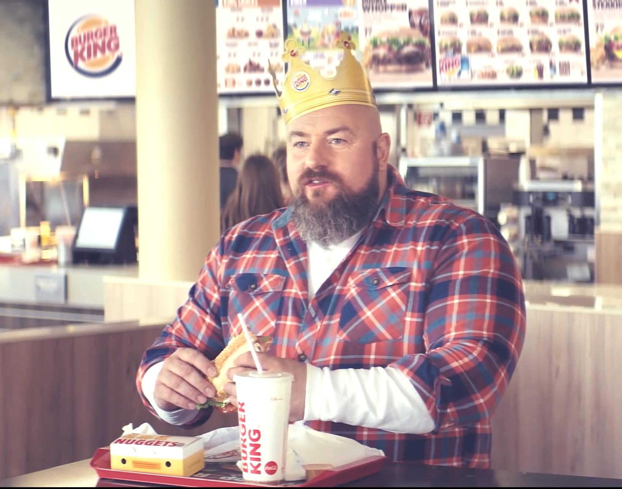 Komparsen im Burger King TVC 2016 2 für 4